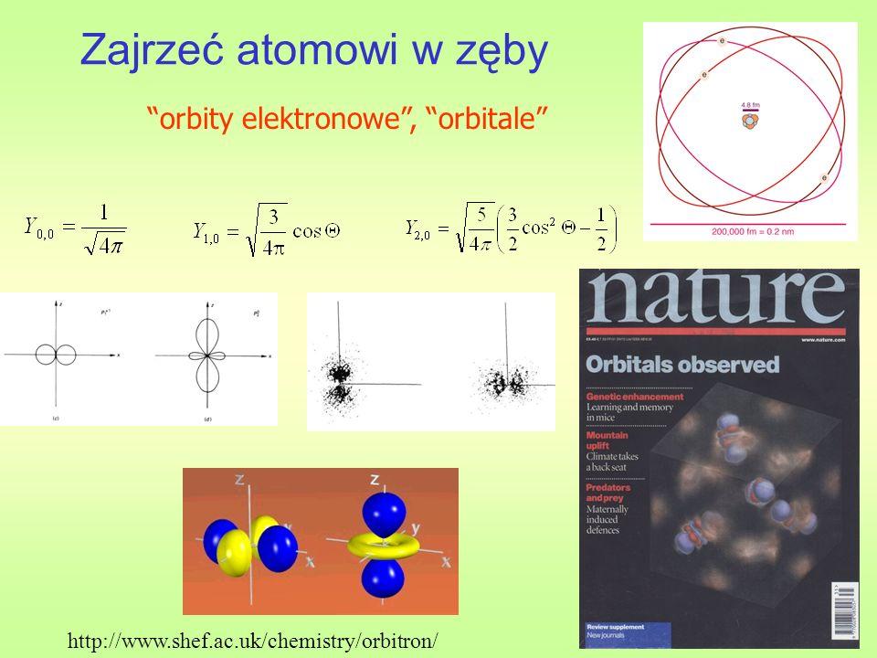 Zajrzeć atomowi w zęby http://www.shef.ac.uk/chemistry/orbitron/ orbity elektronowe, orbitale