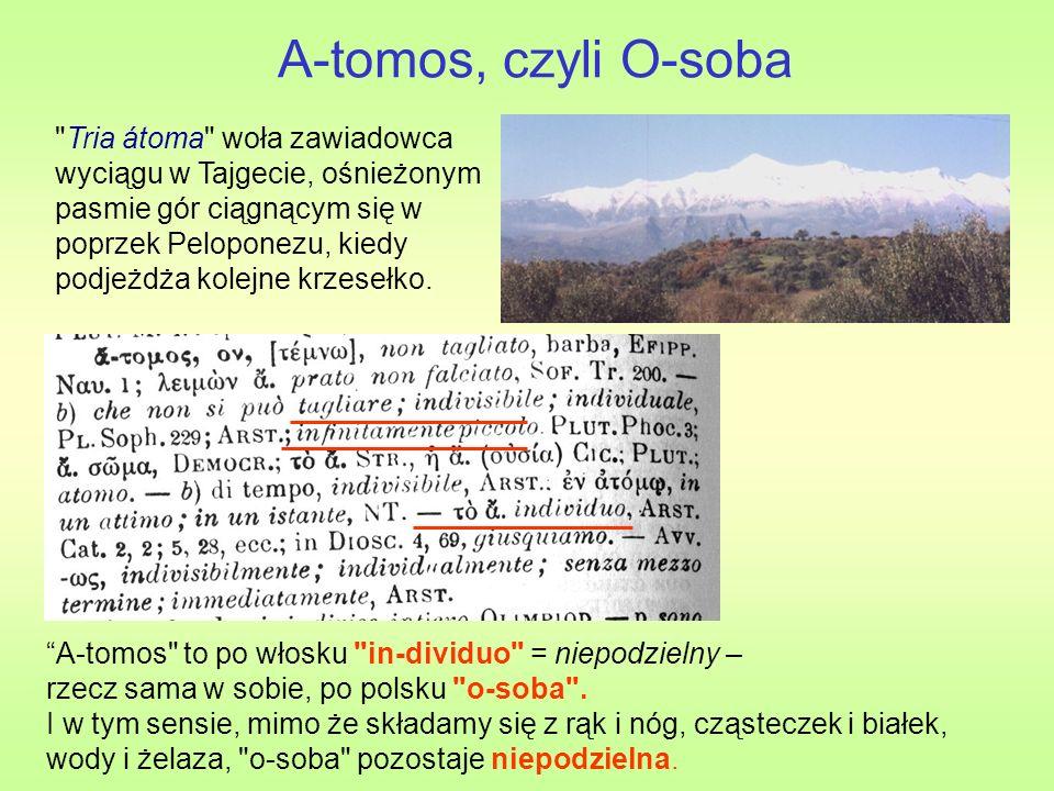 A-tomos, czyli O-soba A-tomos