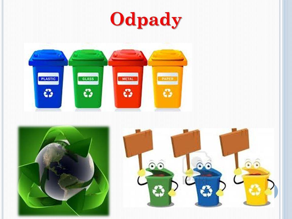 ODPADY segreguję odpady oszczędzam papier zgniatam puszki i butelki, żeby zajmowały mniej miejsca reperuję zepsute przedmioty zamiast kupować nowe nie wyrzucam do kosza na śmieci zużytych świetlówek, baterii i starych leków