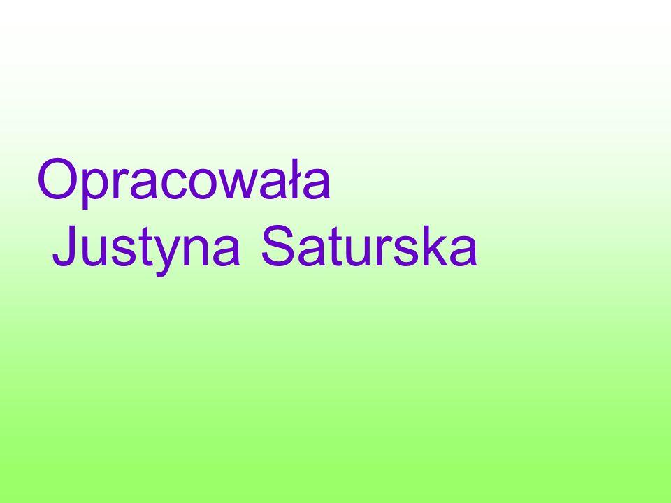 Opracowała Justyna Saturska