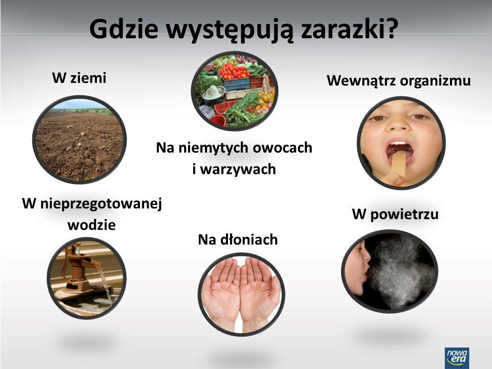 Jak bakterie i wirusy wnikają do organizmu.