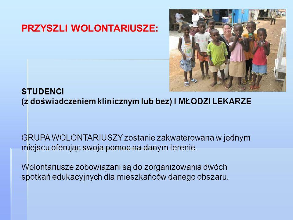 ZARYS: DATY: sierpień – wrzesień 2010/2011 Aplikacja rozpocznie się z dniem ustalenia daty CZAS POBYTU: minimum 2 tyg a maximum 16 tyg.