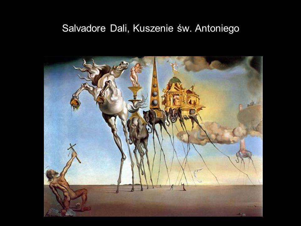Salvadore Dali, Kuszenie św. Antoniego