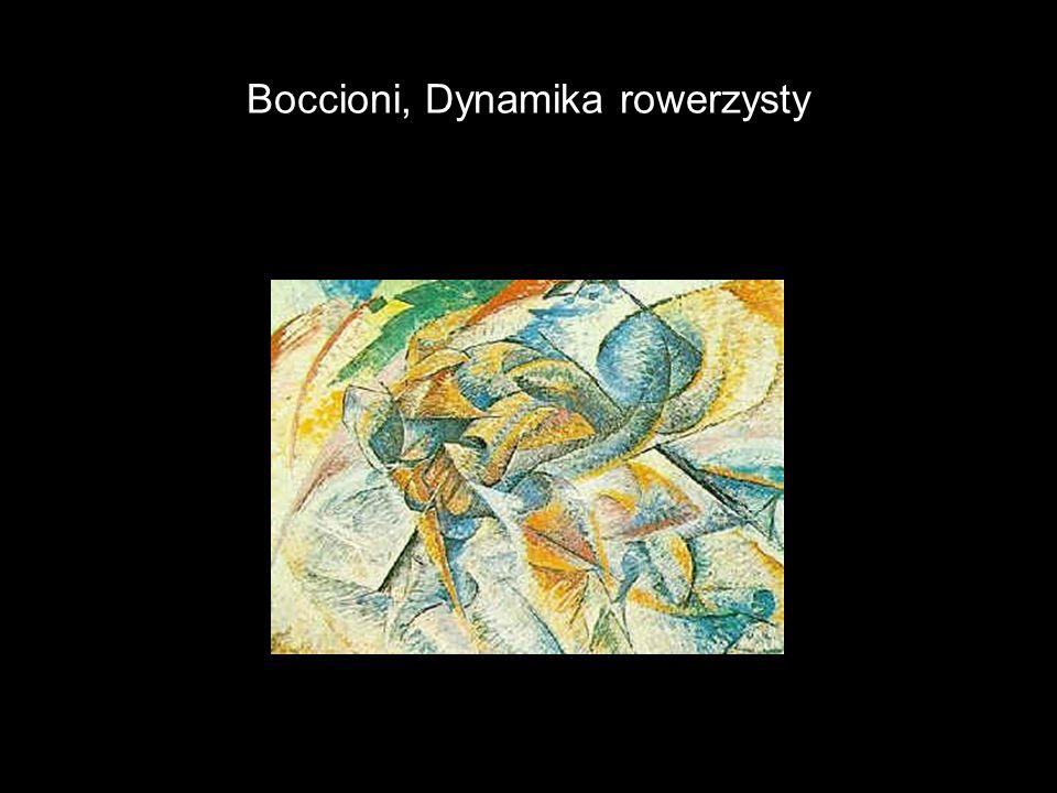 Boccioni, Dynamika rowerzysty