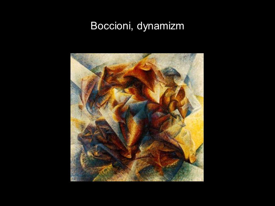 Boccioni, dynamizm