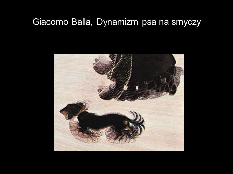 Giacomo Balla, Dynamizm psa na smyczy