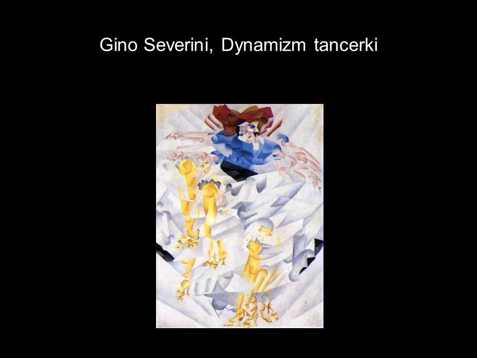 Gino Severini, Dynamizm tancerki