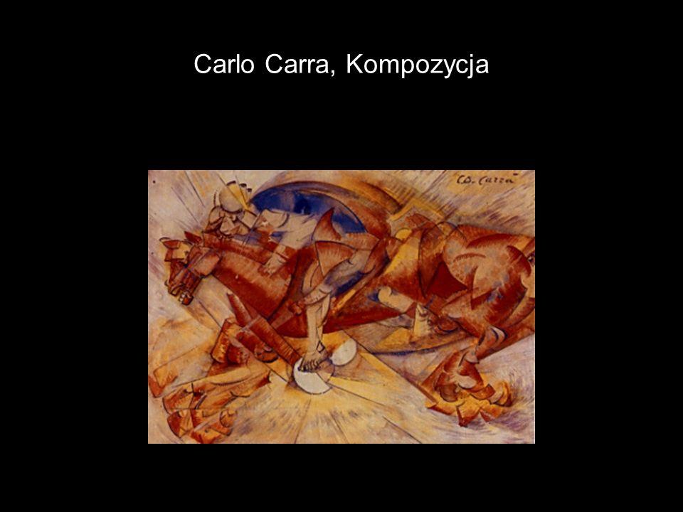 Carlo Carra, Kompozycja