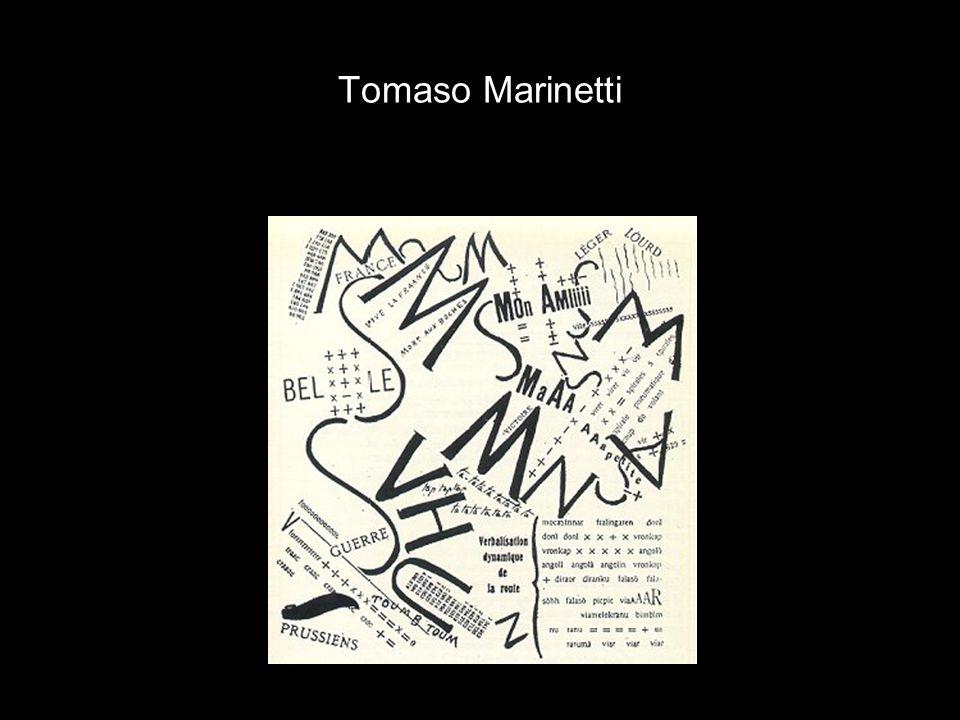 Tomaso Marinetti