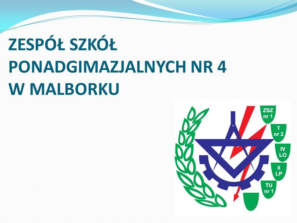 ZESPÓŁ SZKÓŁ PONADGIMAZJALNYCH NR 4 W MALBORKU
