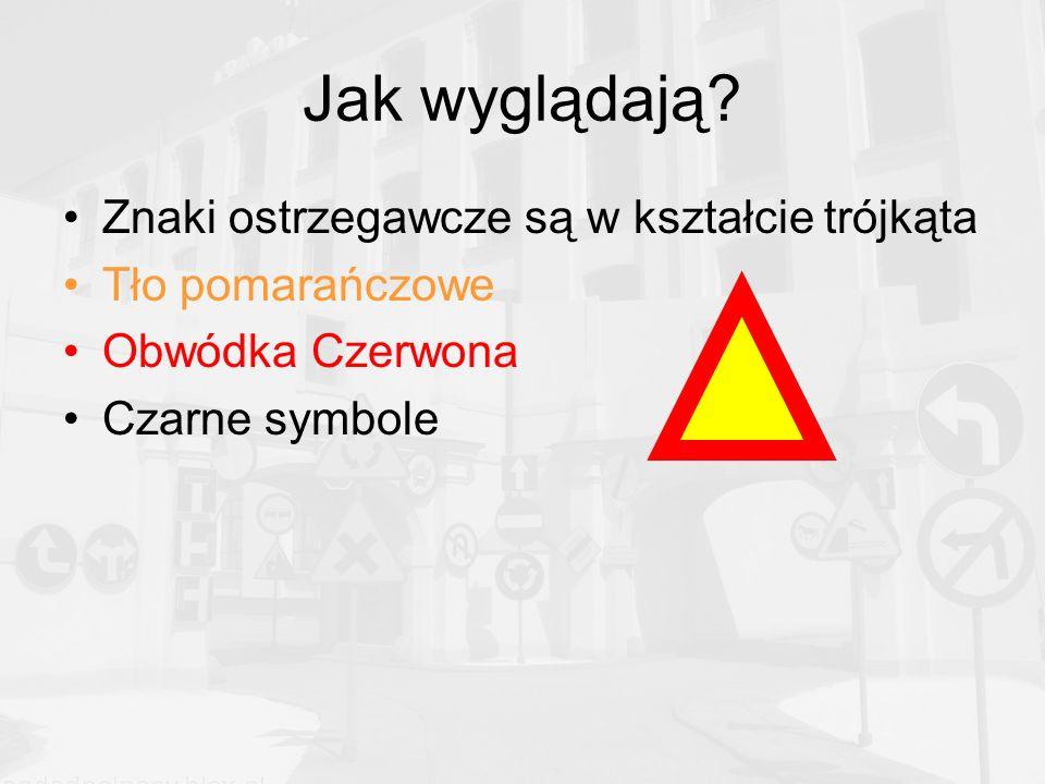 skrzyżowanie o ruchu okrężnym Znak ten nie określa pierwszeństwa, tylko ostrzega o zbliżaniu się do ronda