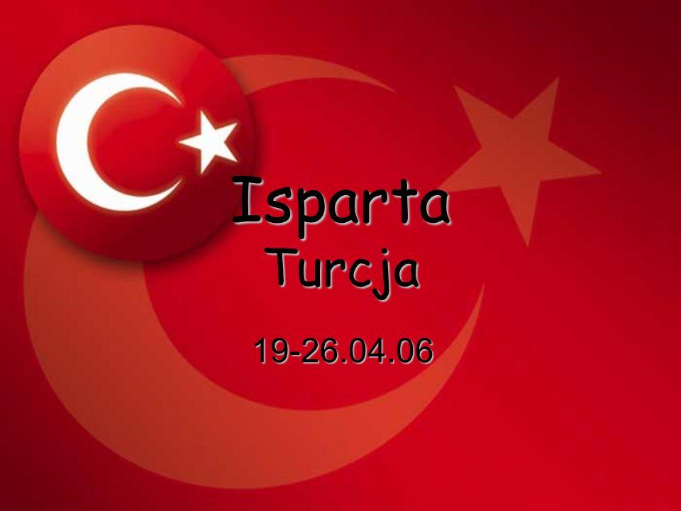 Isparta Turcja 19-26.04.06