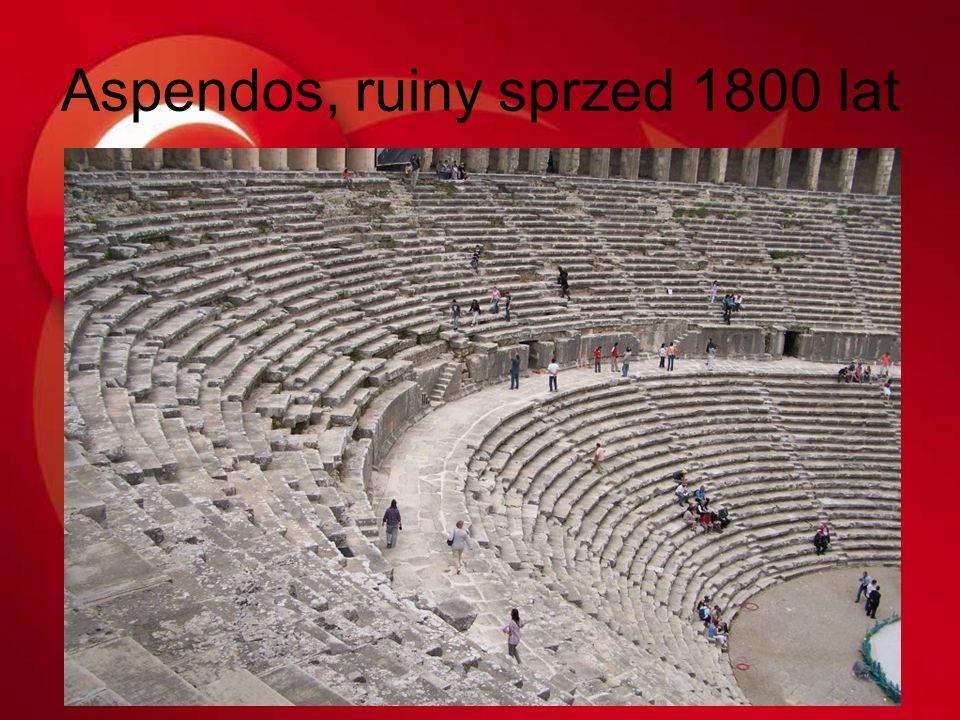 Aspendos, ruiny sprzed 1800 lat