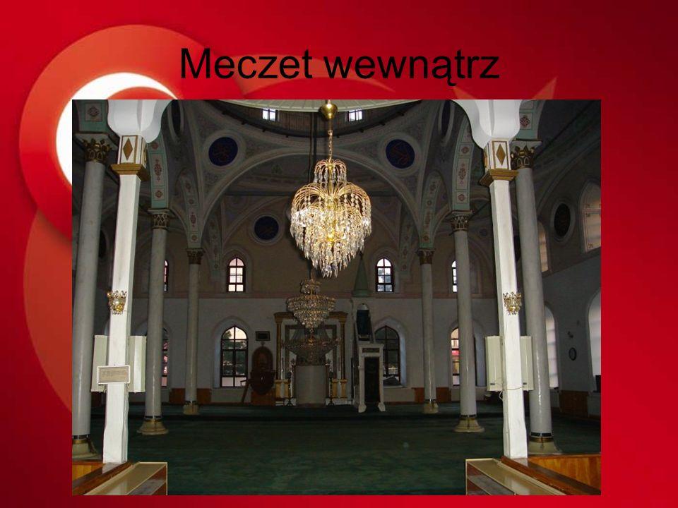 Meczet wewnątrz