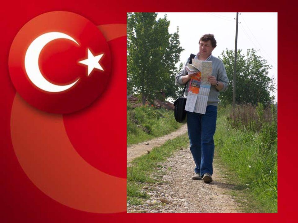 Po pierwszym noclegu, turkish village.