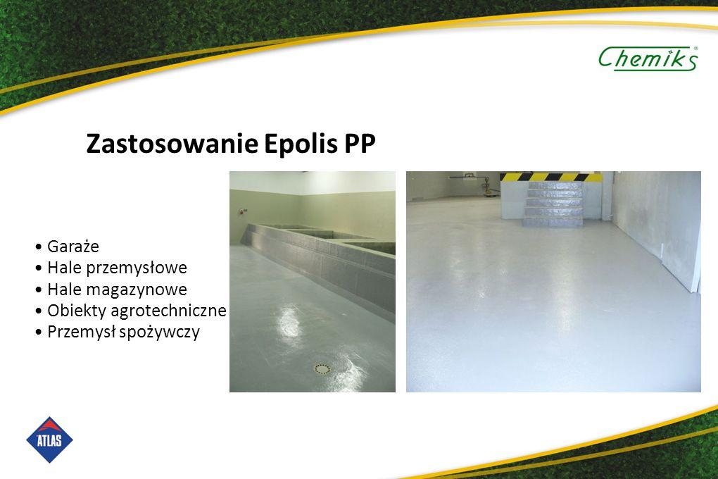 Zastosowanie Epolis PP Garaże Hale przemysłowe Hale magazynowe Obiekty agrotechniczne Przemysł spożywczy