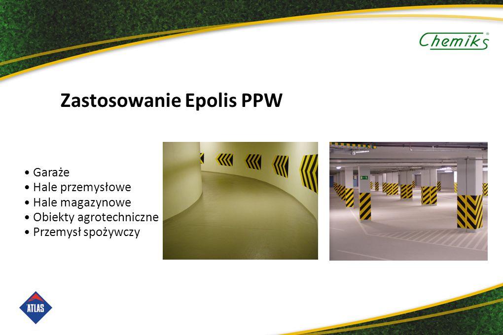Zastosowanie Epolis PPW Garaże Hale przemysłowe Hale magazynowe Obiekty agrotechniczne Przemysł spożywczy