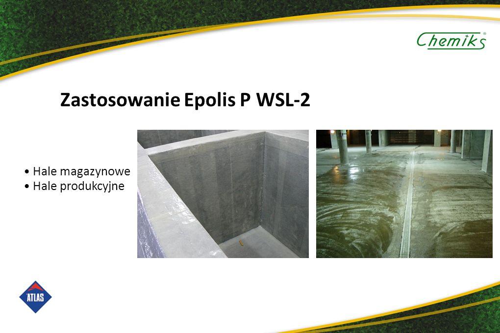 Zastosowanie Epolis P WSL-2 Hale magazynowe Hale produkcyjne