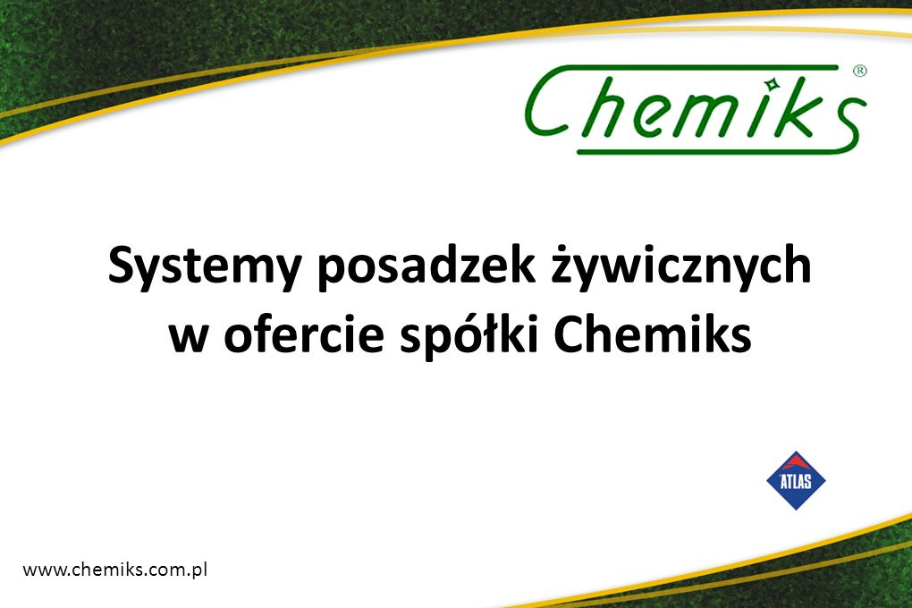 Chemiks jest firmą produkcyjno-handlowo-usługową działającą na rynku od 1990 roku.