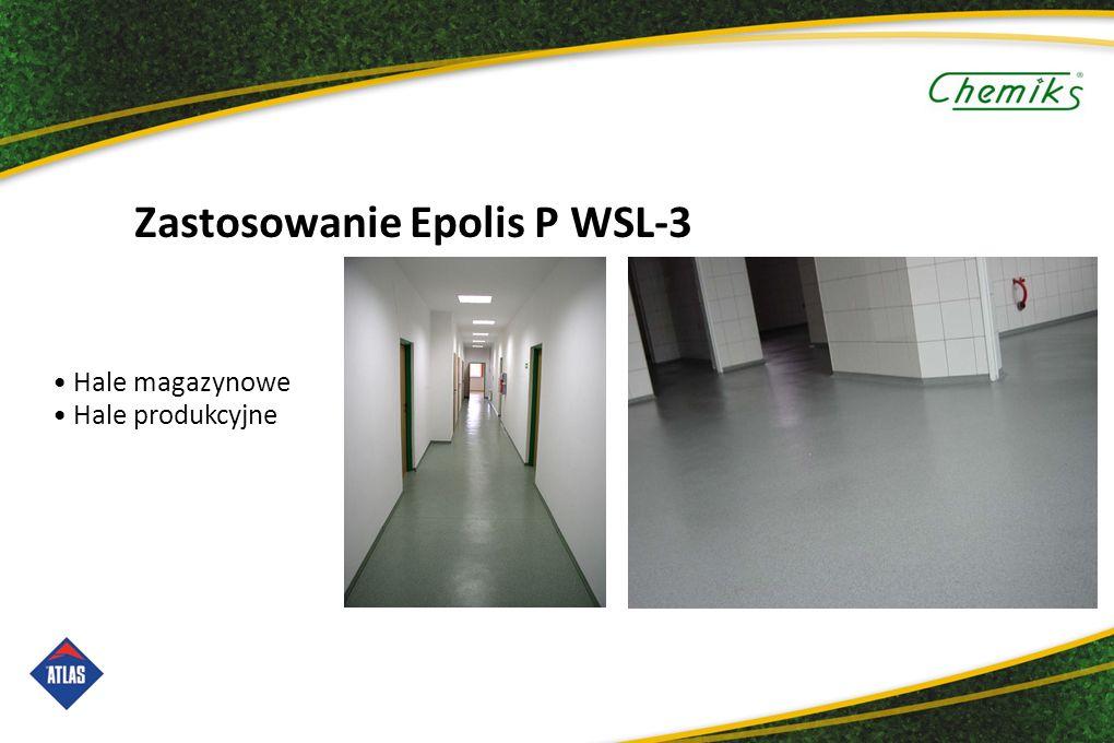 Zastosowanie Epolis P WSL-3 Hale magazynowe Hale produkcyjne