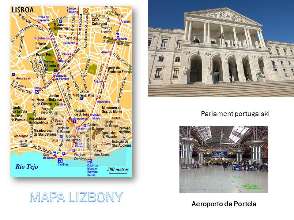 Parlament portugalski Aeroporto da Portela