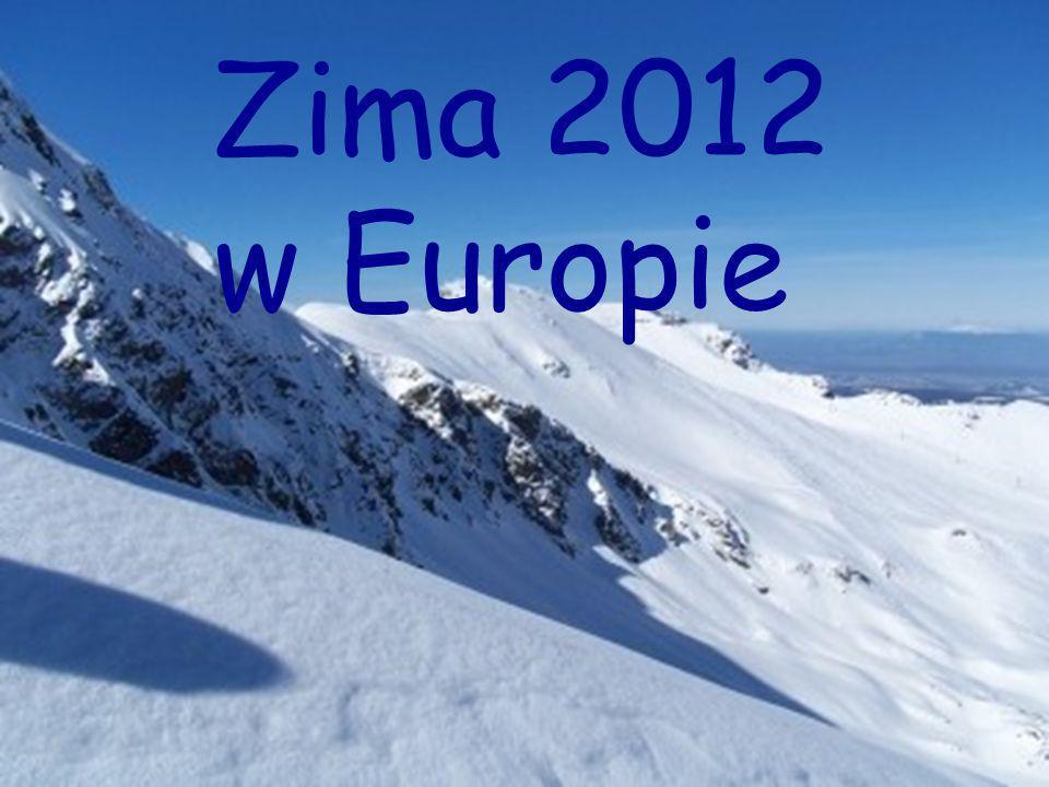 Zima 2012 w Europie