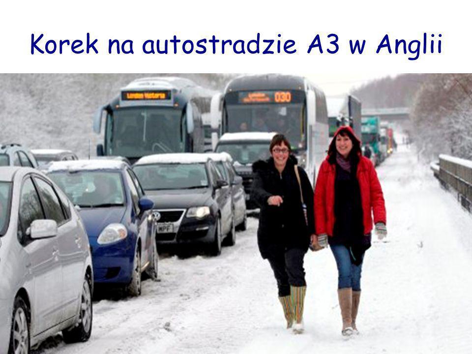 Zima zaatakowała również Włochy. Zerwane linie energetyczne