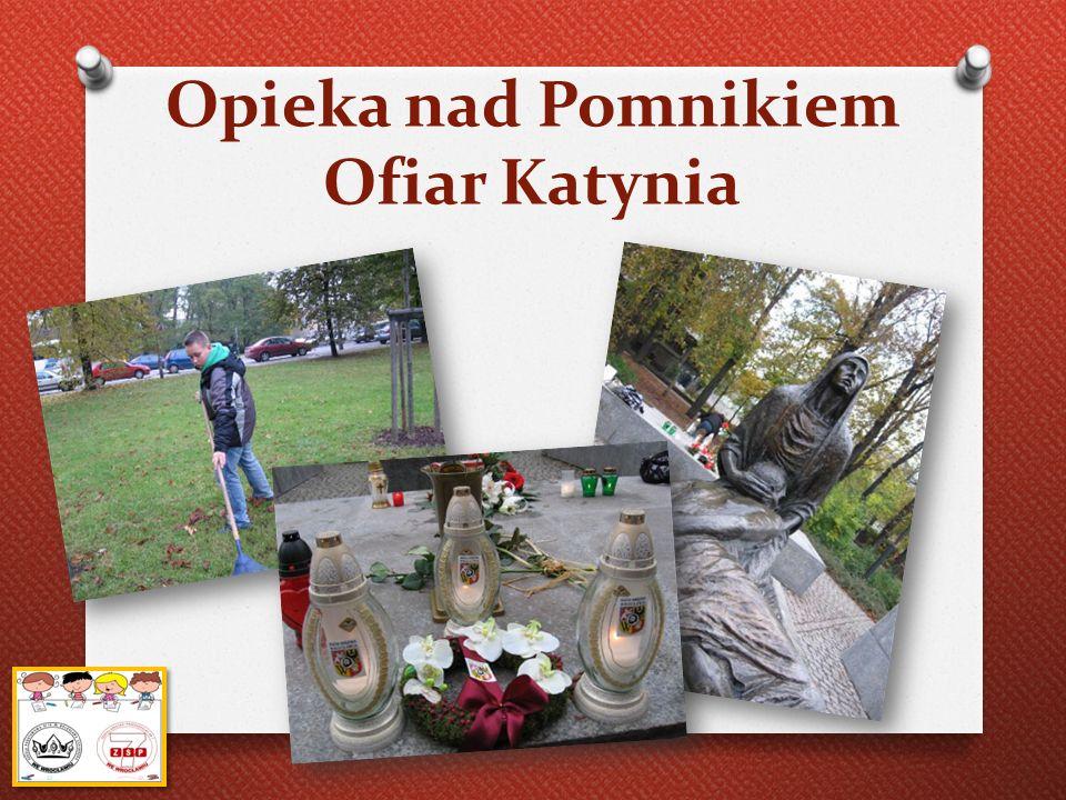 Opieka nad Pomnikiem Ofiar Katynia