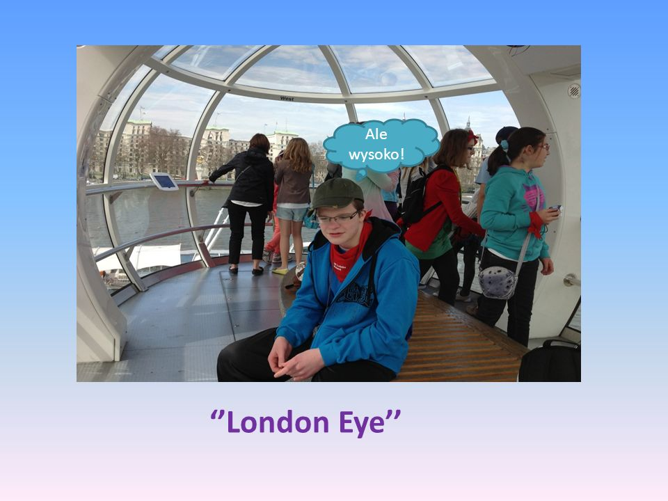 London Eye Ale wysoko!