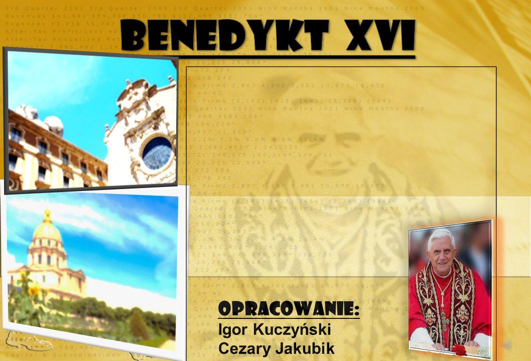 Pilgrzymka do Polski : Papież Benedykt XVI wylądował o godzinie 11.00 na lotnisku Okęcie w Warszawie.