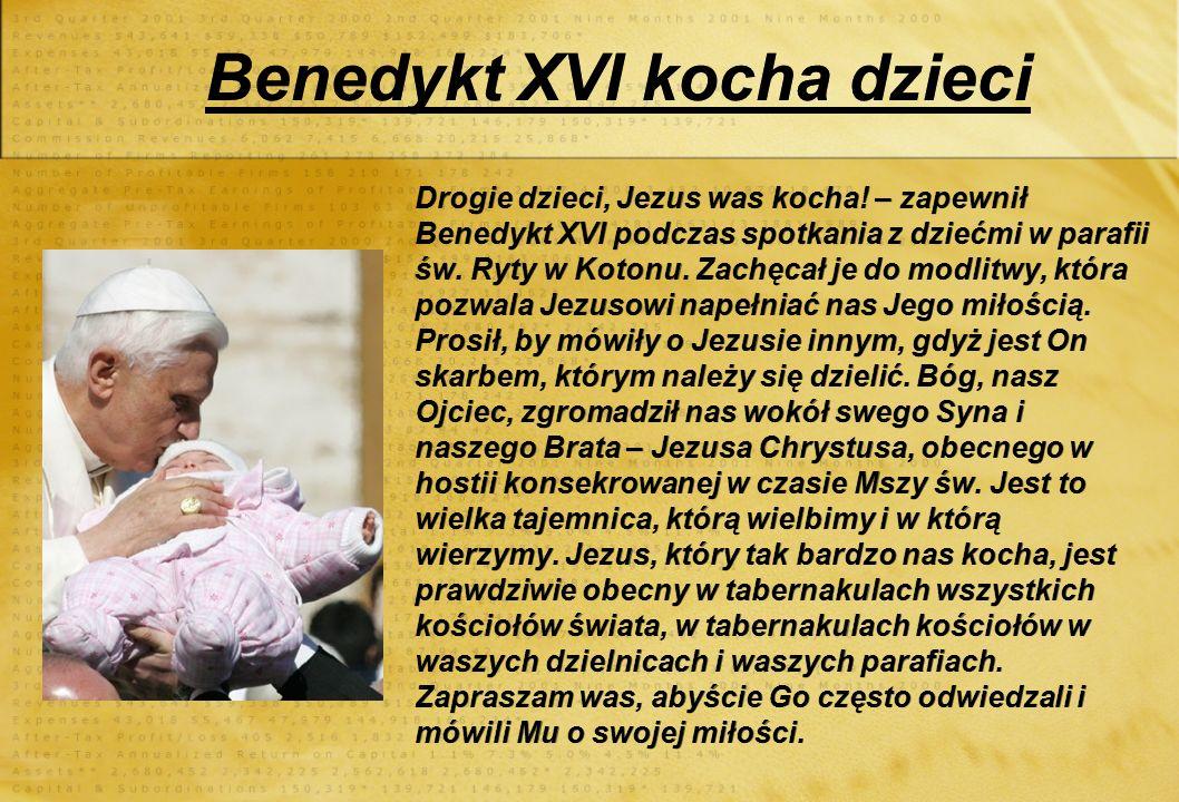 Pilgrzymka do Polski : Papież Benedykt XVI wylądował o godzinie 11.00 na lotnisku Okęcie w Warszawie. Pierwszy raz podczas swojego pontyfikatu odwiedz