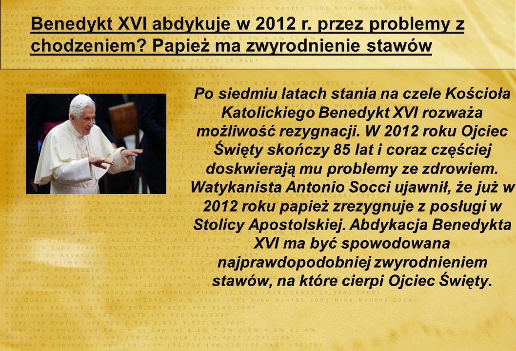 Benedykt XVI kocha dzieci Drogie dzieci, Jezus was kocha! – zapewnił Benedykt XVI podczas spotkania z dziećmi w parafii św. Ryty w Kotonu. Zachęcał je
