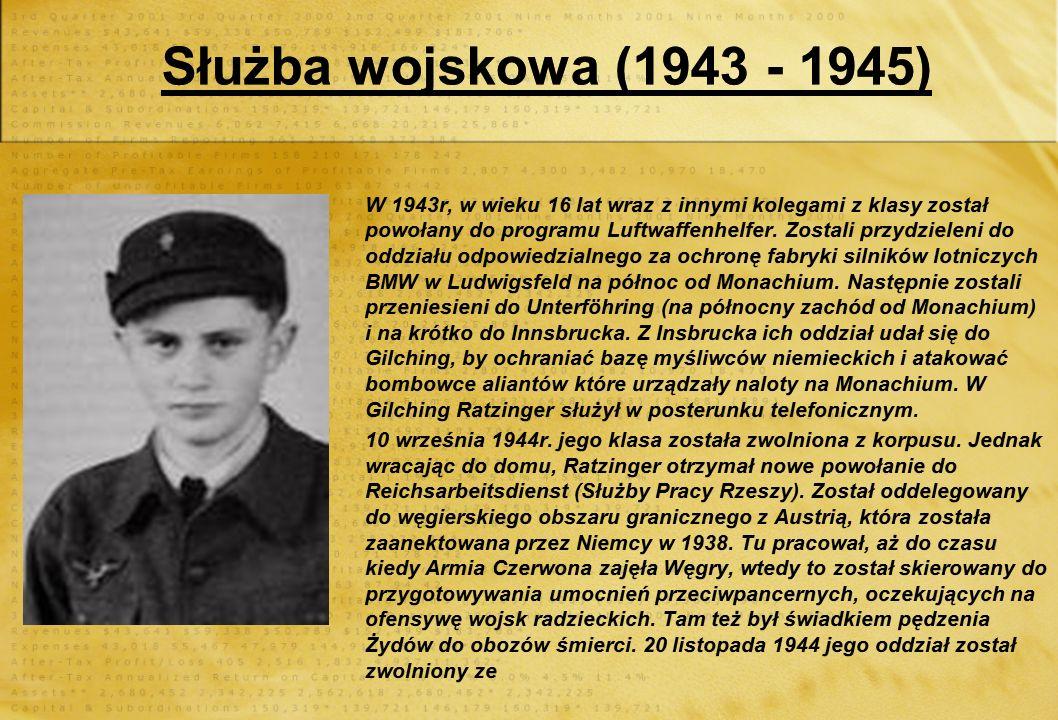 Benedykt jako dziecko mieszkał w domku przy ul. Szkolnej. Miał tam wspaniałe dzieciństwo Urodził się 16 kwietnia 1927. Był trzecim, najmłodszym dzieck