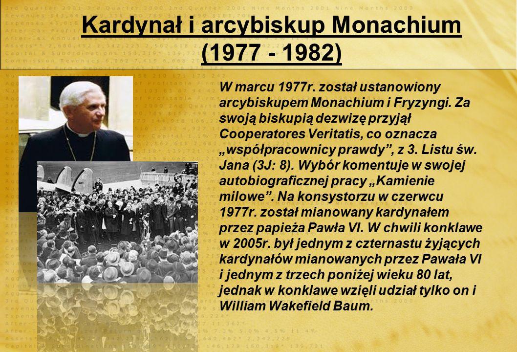 Kariera naukowa (1951 - 1977) W roku 1959, został profesorem na uniwersytecie w Bonn. Jego inauguracyjny wykład zatytułował Bóg wiary i Bóg filozofii.