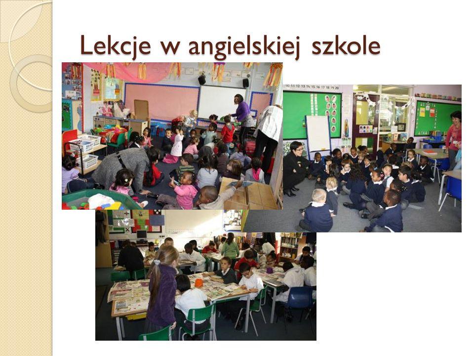 Lekcje w angielskiej szkole