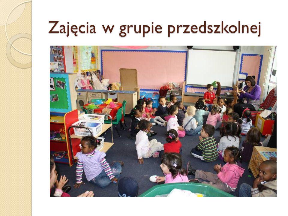 Zajęcia w grupie przedszkolnej