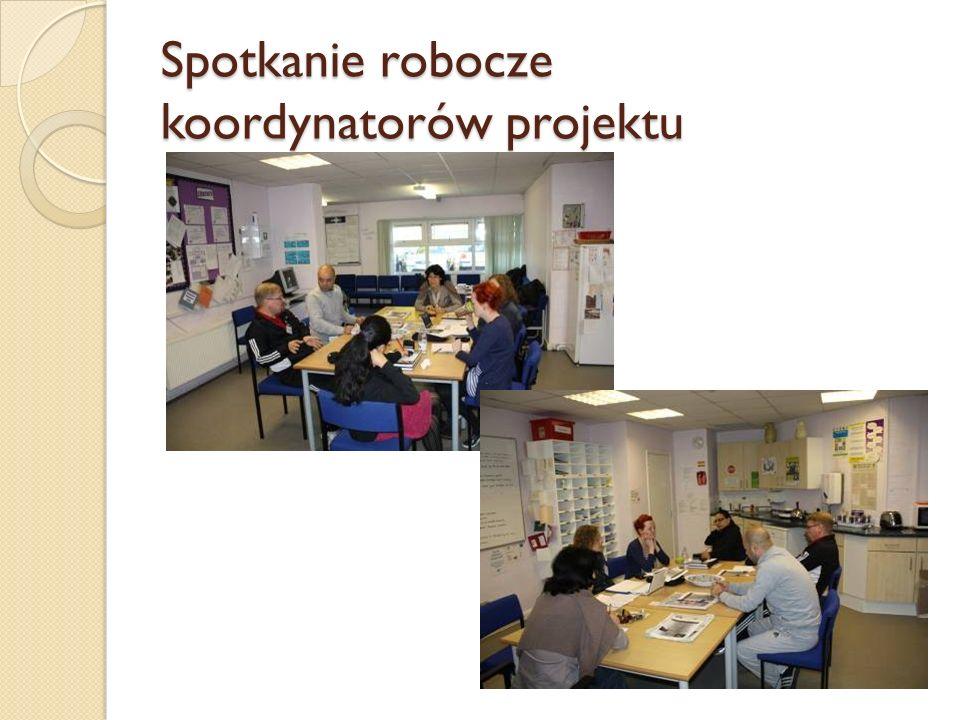 Spotkanie robocze koordynatorów projektu