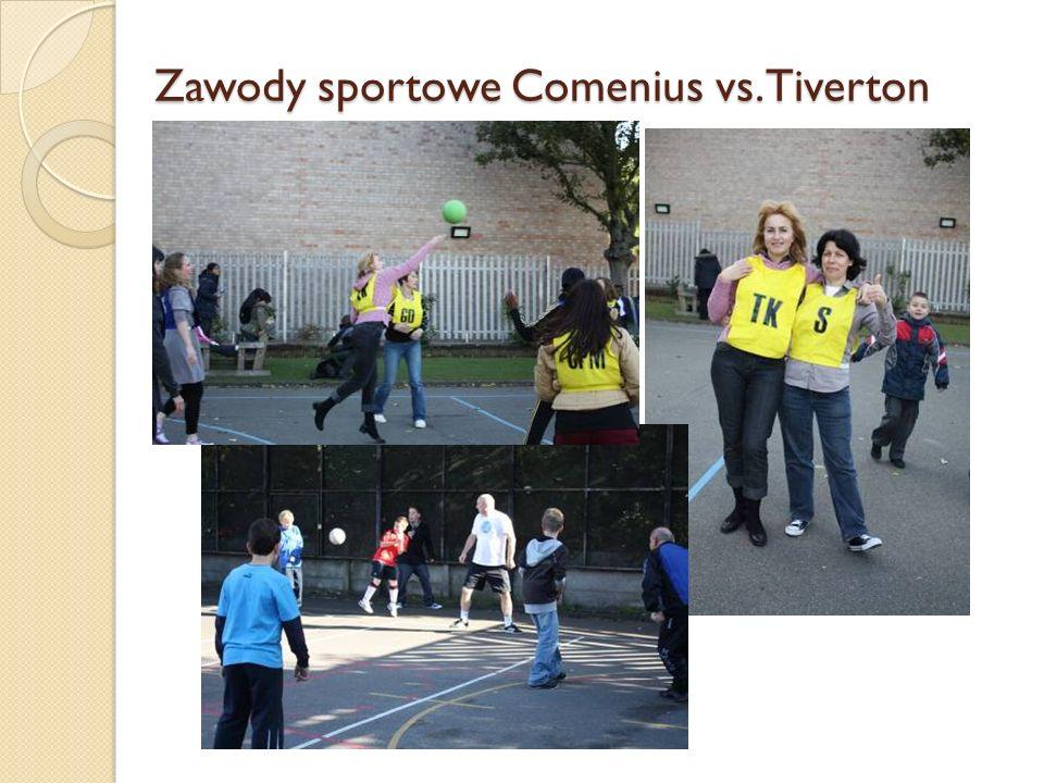 Zawody sportowe Comenius vs. Tiverton