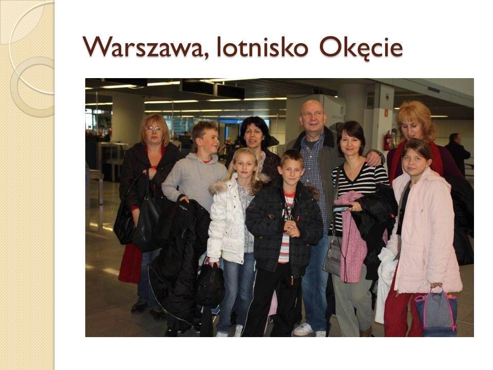 Warszawa, lotnisko Okęcie