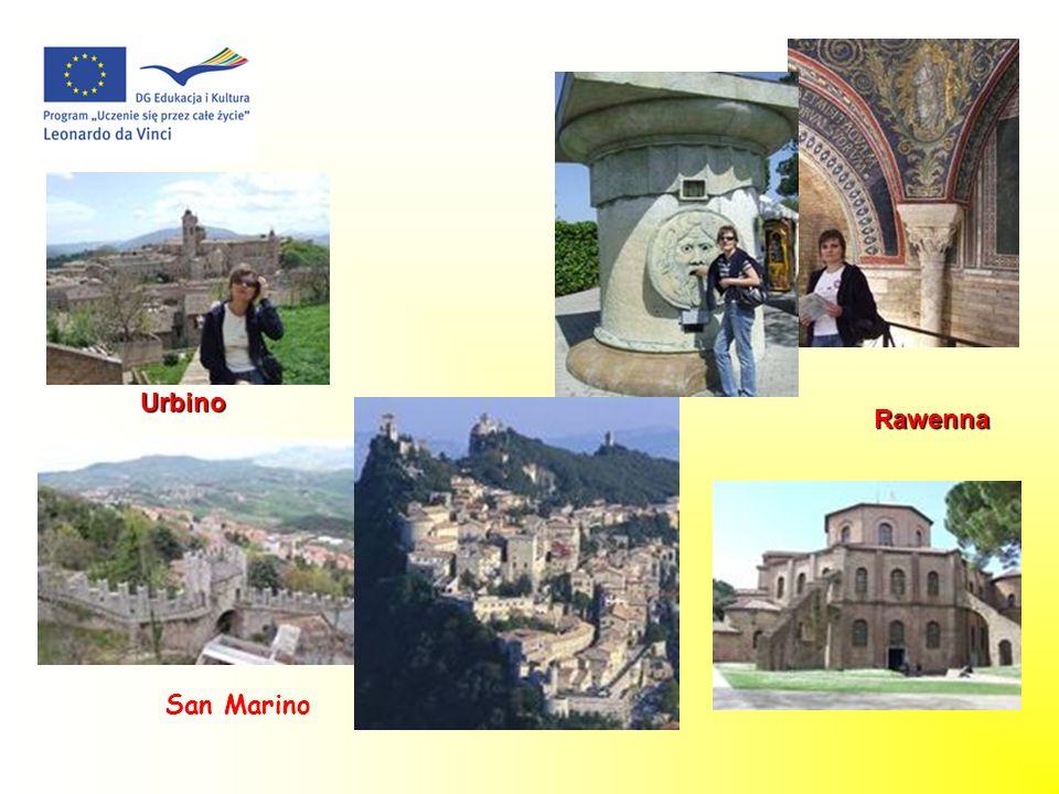 Rawenna Urbino San Marino