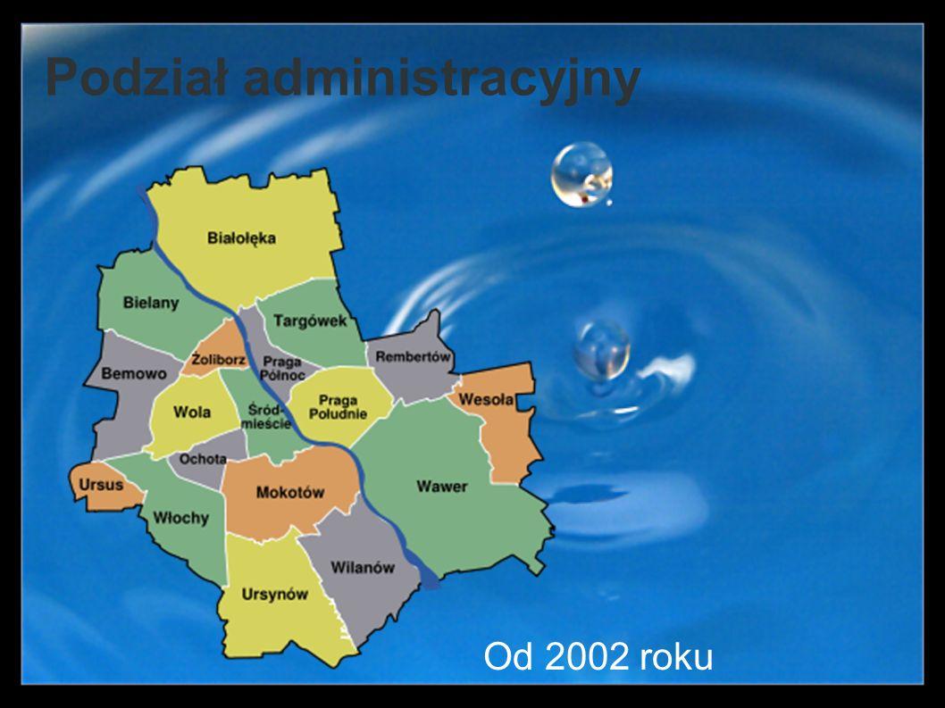 Podział administracyjny Od 2002 roku