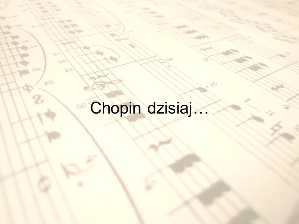W Warszawie co 5 lat odbywają się Międzynarodowe Konkursy Pianistyczne im. Fryderyka Chopina.
