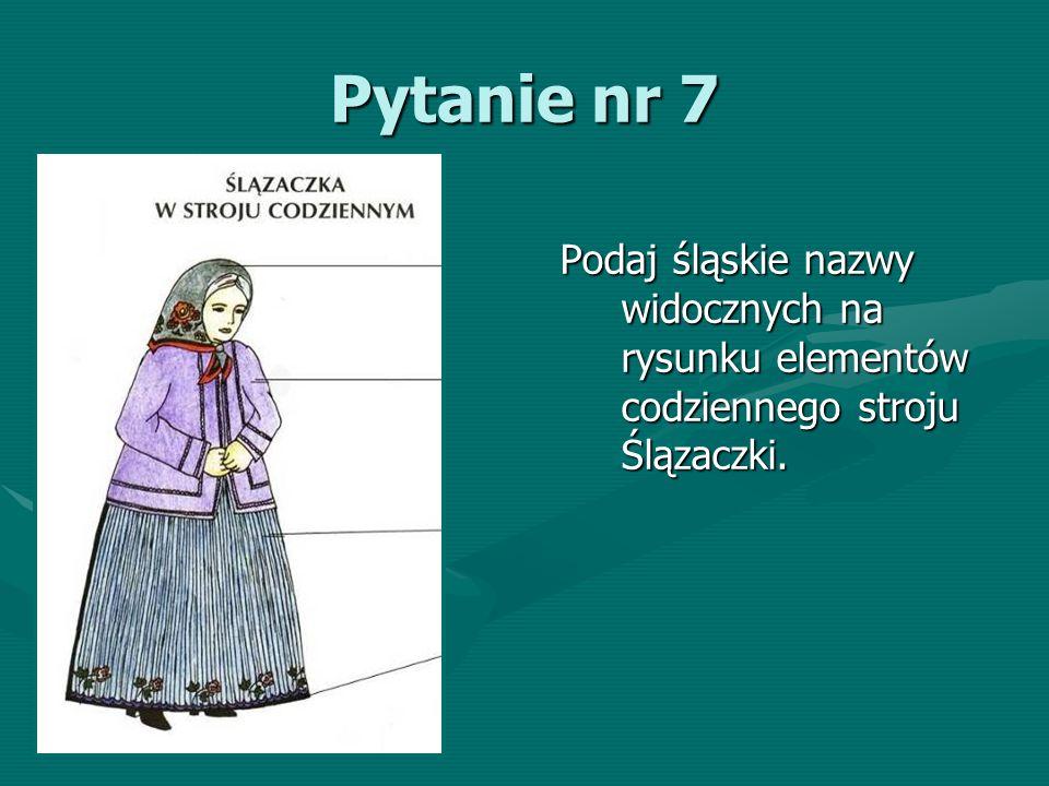 Pytanie nr 38 Wymień co najmniej sześć miast z terenu województwa śląskiego.