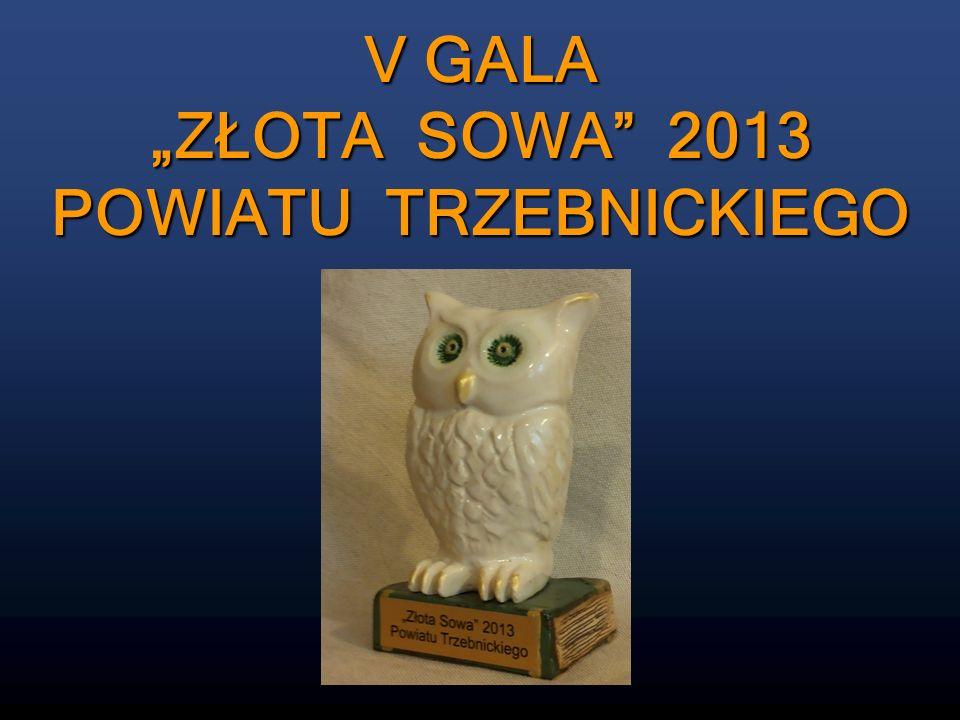 ZŁOTA SOWA 2013 MARTYNA MAJDA Publiczne Gimnazjum im.