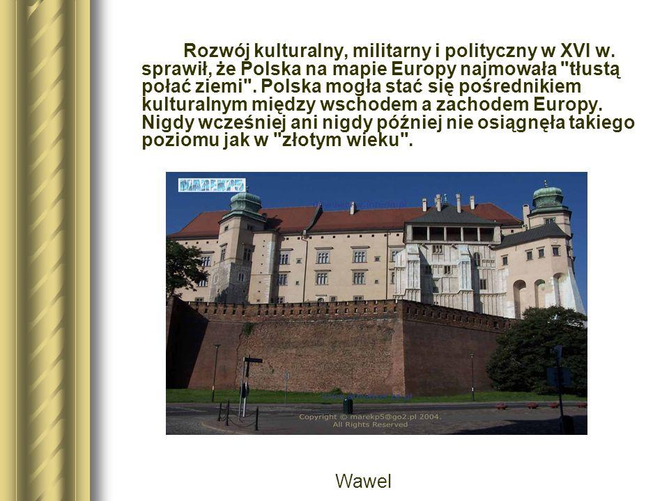Rozwój kulturalny, militarny i polityczny w XVI w.