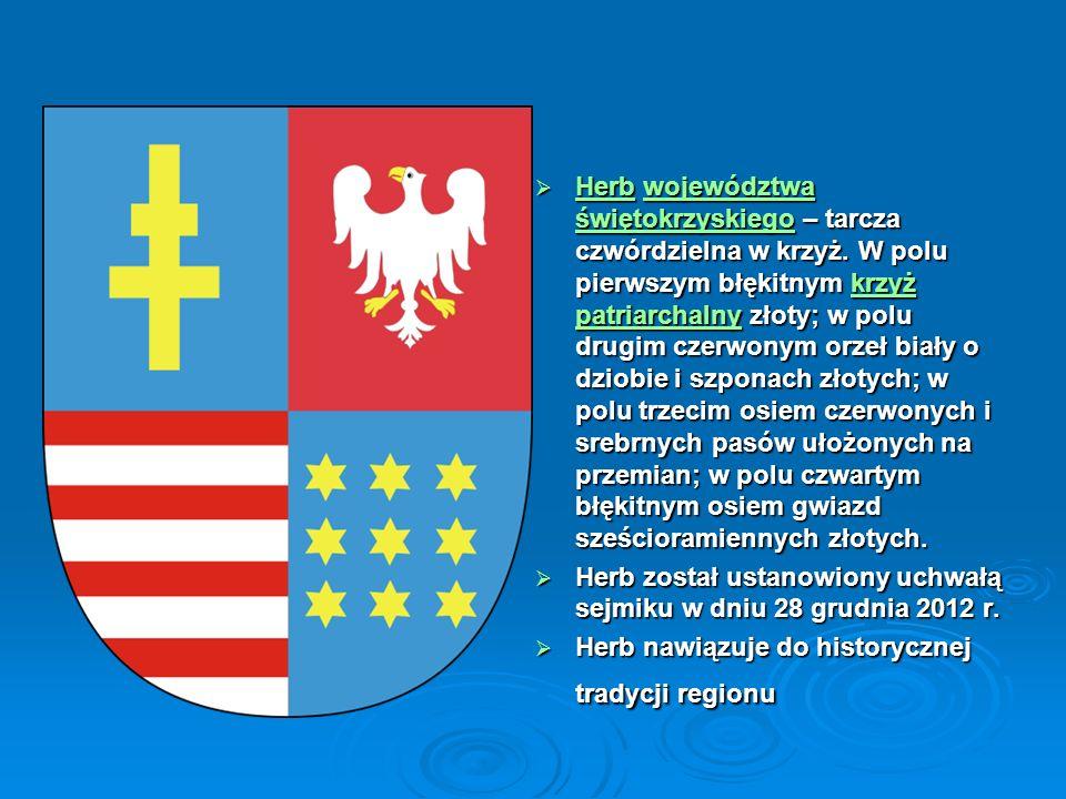 Krzyż patriarchalny rzyż patriarchalnyrzyż patriarchalny W pierwszym polu tarczy znajduje się herb benedyktynów łysogórskich – podwójny złoty krzyż na błękitnym polu.