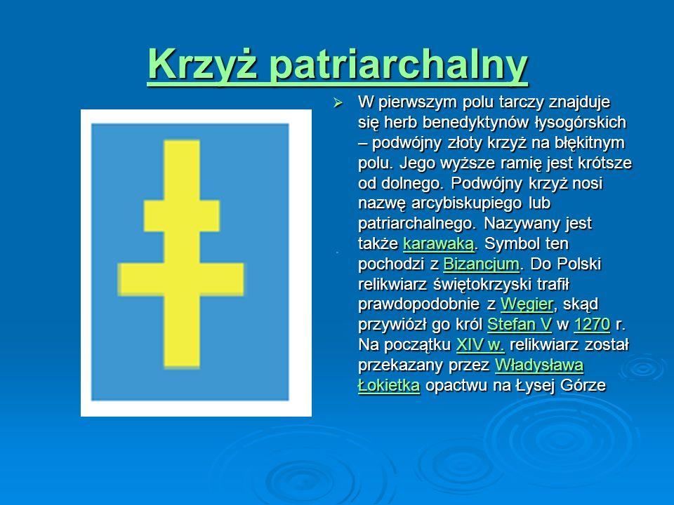 Biały orzeł W czerwonym drugim polu znajduje się biały orzeł, zwrócony w prawo – herb dawnej ziemi krakowskiej, ale również herb państwa polskiego i niektórych miast królewskich, w tym Sandomierza.