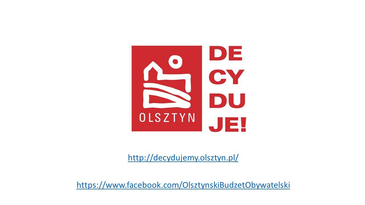 http://decydujemy.olsztyn.pl/ https://www.facebook.com/OlsztynskiBudzetObywatelski