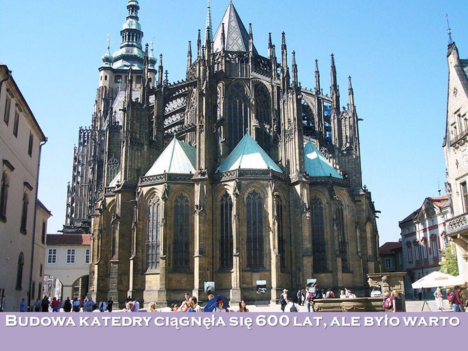 Budowa katedry ci ą gn ęł a si ę 600 lat, ale by ł o warto