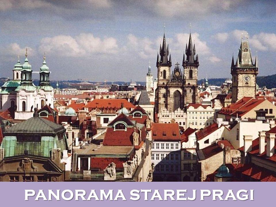 PANORAMA STAREJ PRAGI